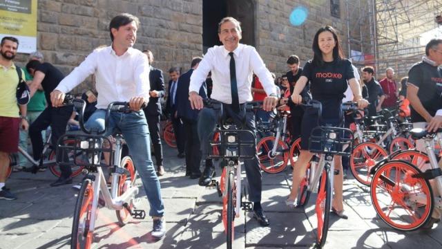 摩拜骑进意大利,两市长骑行后夸好