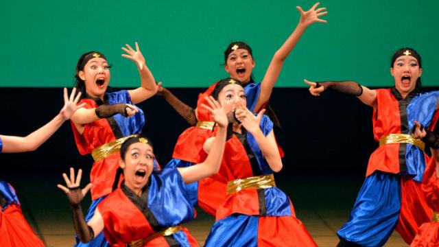 日本中小学舞蹈大赛,个个实力不凡