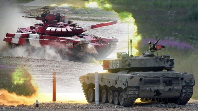 直播:坦克两项总决赛,中俄白哈争雄
