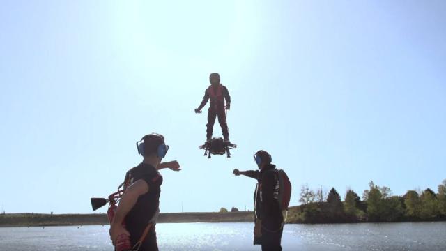 法国科技公司发布可载人悬浮滑板