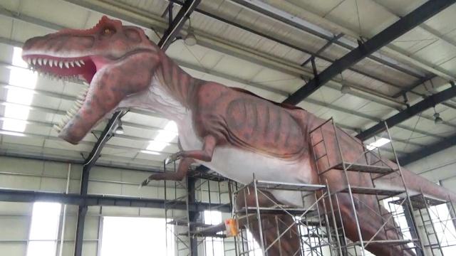 """最酷生意:""""复活""""恐龙卖给全世界"""