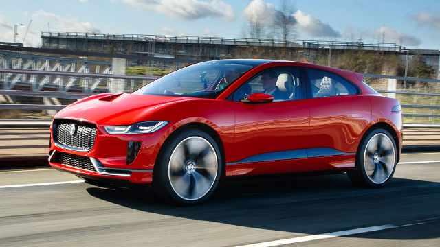 捷豹基于电动版F1研发的概念车