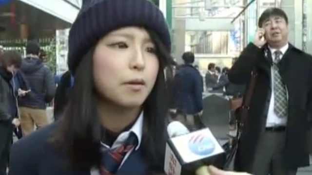 央媒日本街访:学生不知南京大屠杀