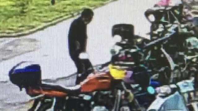 蒙面男专偷高档自行车,10秒就得手
