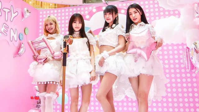 SNH48甜美可爱,外国小哥秒变粉