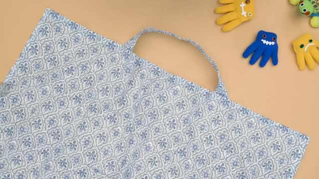 手工DIY:哺乳巾的制作方法