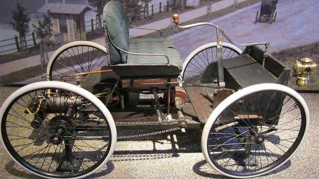 轮胎取自自行车,史上首辆福特汽车
