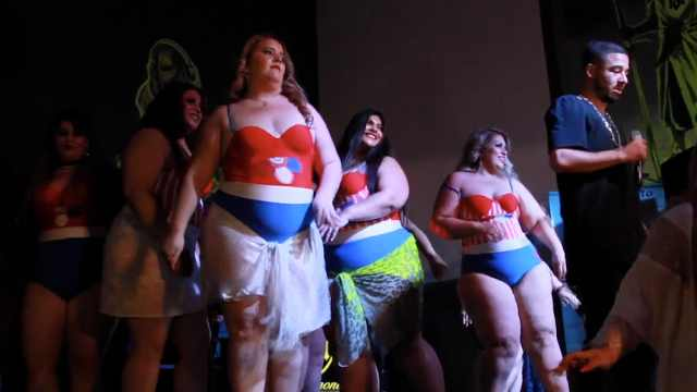 胖美人选美大赛,有重量更有自信