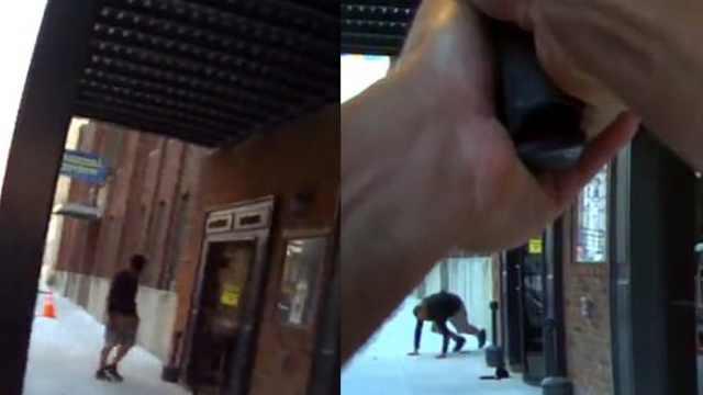 演员扮强盗,美国警察路过直接开枪