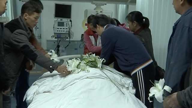 家人遵64岁老人临终遗愿:捐献遗体