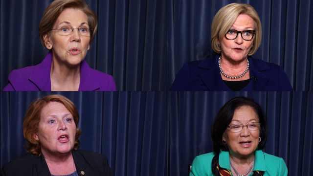 好莱坞性侵延烧:女参议员现身说法