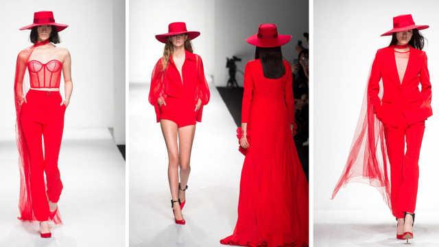 上海时装周,必胜客用时尚演绎美食