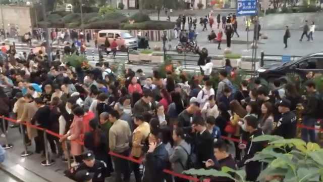 火锅店炒作?重庆崽儿排队一公里