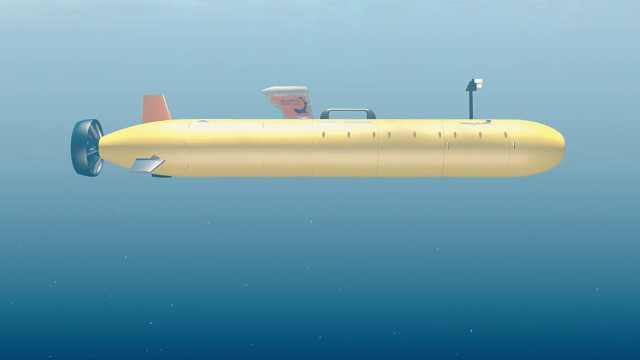 """水下无人潜艇,海底的""""航空母舰"""""""