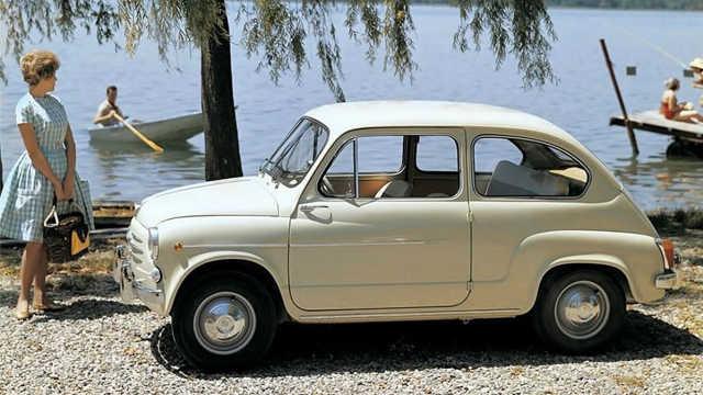 曾风靡世界的都灵小车,菲亚特600