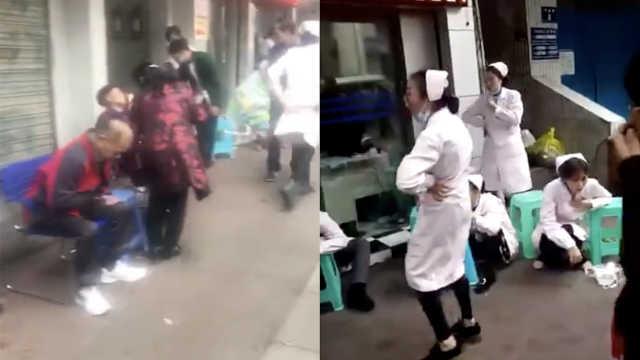 泸州一医院漂白水洒漏,致多人不适