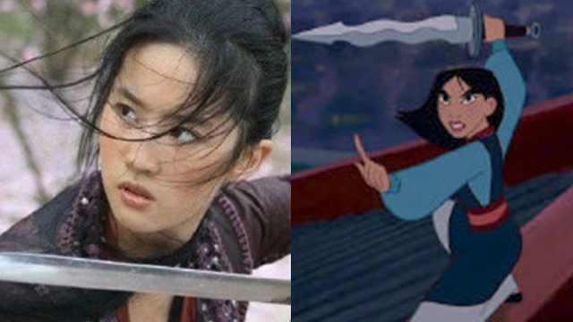迪士尼官宣真人版花木兰:刘亦菲!