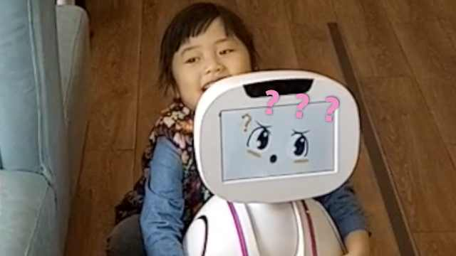 餐厅引进送餐机器人,爱撒娇会卖萌