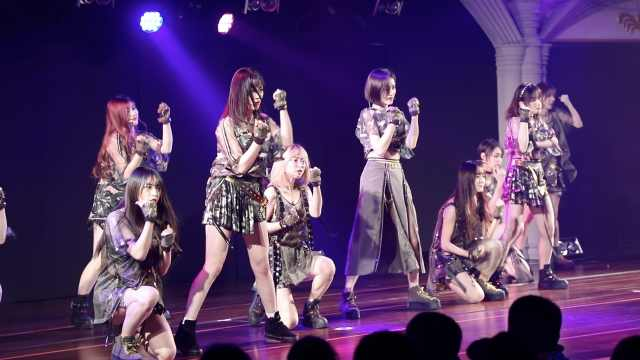 SNH48热舞,女粉丝