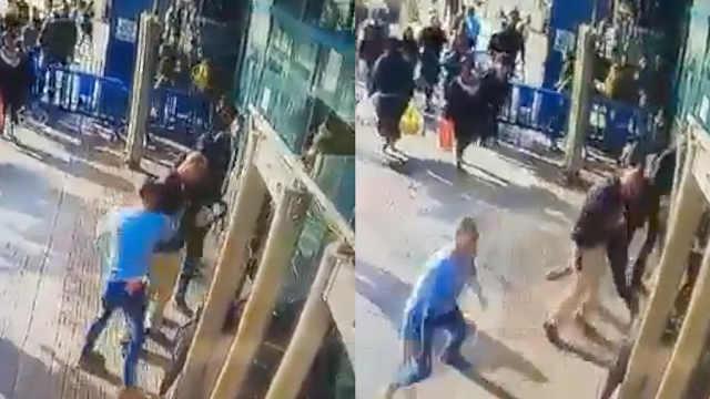 监控:巴勒斯坦男子刺伤以色列保安