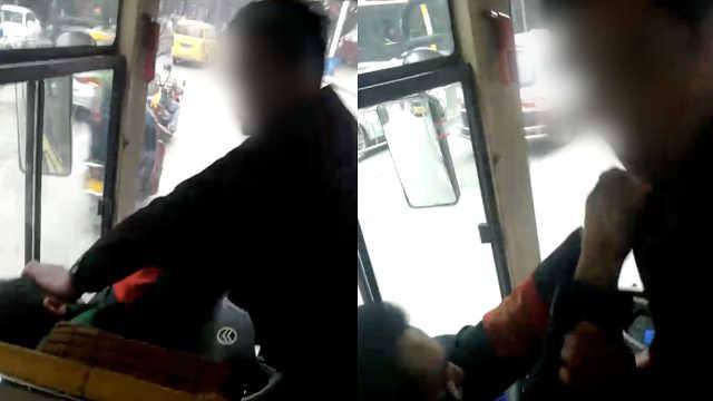 公交司机怒吼行窃小偷,竟遭到殴打
