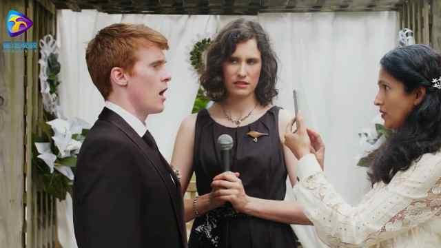 结婚仪式现场新娘被鸟屎砸中