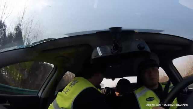 司机高速发病,与妻视频喊