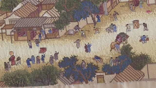 农家女历时6年,绣出20米清明上河图