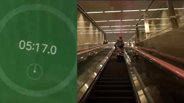 地下100米!重庆现全国最深地铁站