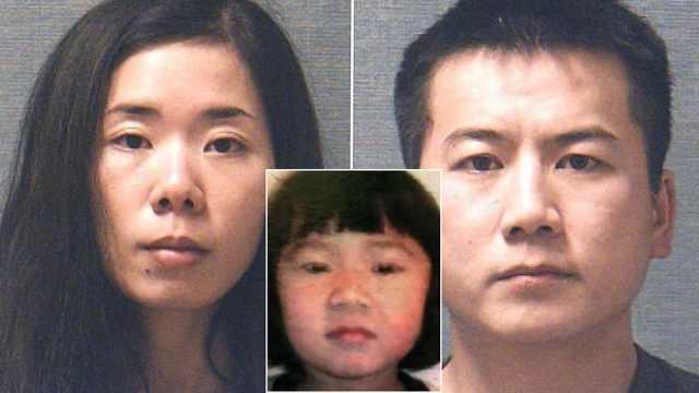 华人夫妇虐杀5岁亲生女儿,全美震惊