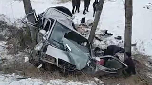 北林大女学生赴雪乡遇车祸,4死5伤