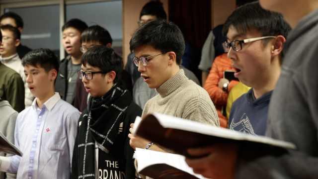 惊艳!这是上海唯一的纯男生合唱团