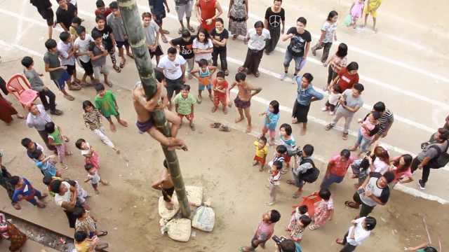 缅甸人民竟是这样庆祝独立70周年