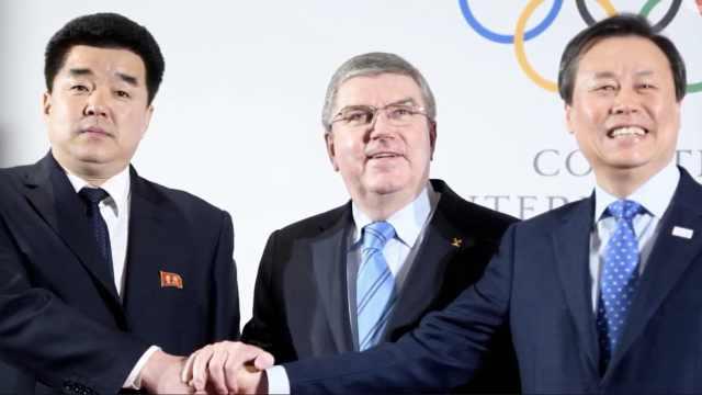 朝韩敲定冬奥联队,国歌《阿里郎》
