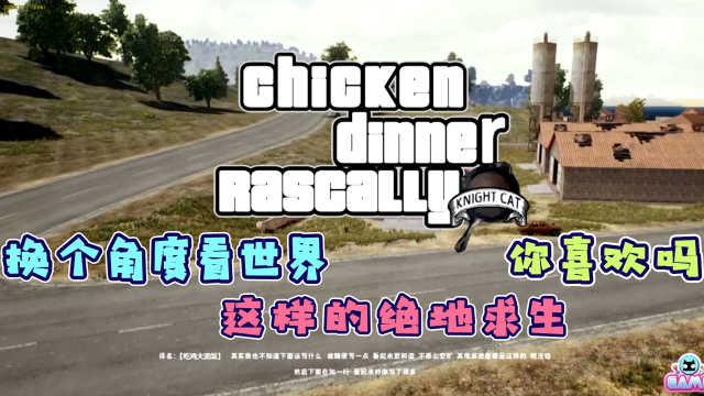 换个角度看吃鸡!这个视角你喜欢吗