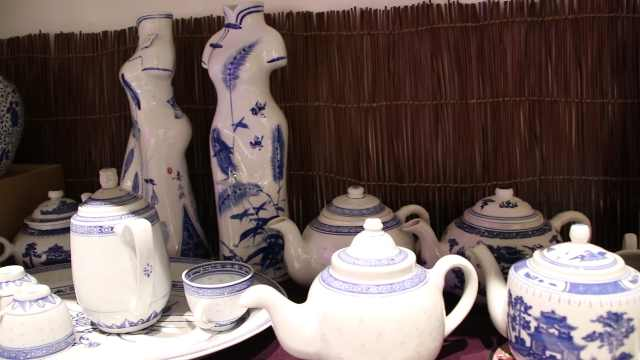 景德镇瓷器,千年手工工艺造型优美