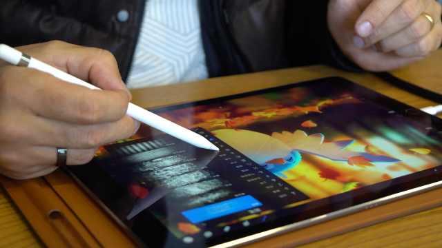 在现场:iPad Pro还有这逆天操作?