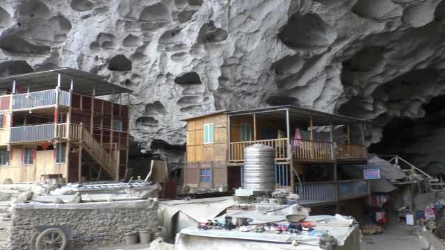 中国最后1个穴居部落,还剩18户人家