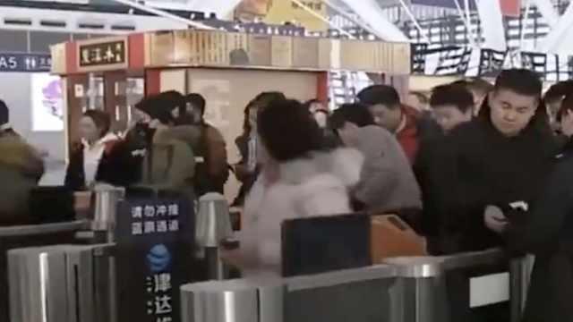 助力春运,青岛增开班机、列车
