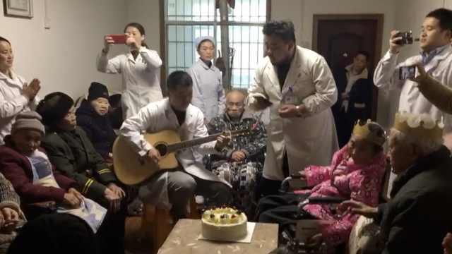 医生客串歌手,敬老院开专场演唱会
