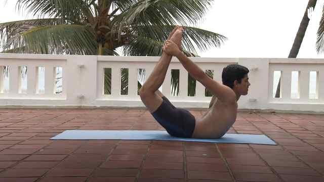 印度古式瑜伽教学:弓式
