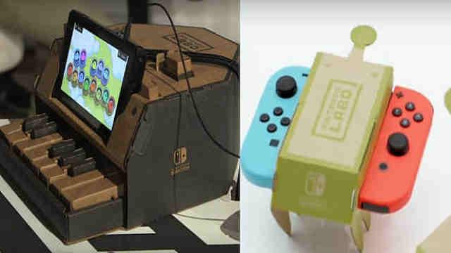 Switch纸板外设抢先体验,超有趣!