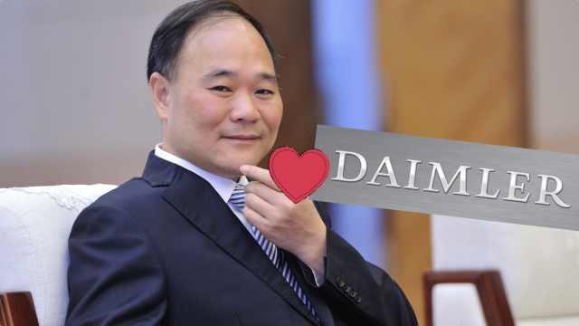 李书福90亿美元入主奔驰母公司