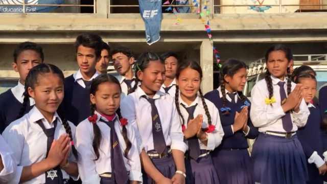 尼泊尔震后三年,村里的孩子还好吗