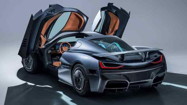 近2000马力400公里极速的电动车