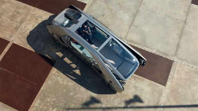 无人驾驶可载6人,雷诺概念款公交