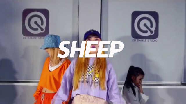 妙妙《sheep》编舞,尽显帅气风格