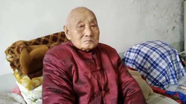 佛系老人晒百岁秘诀:从不抽烟喝酒