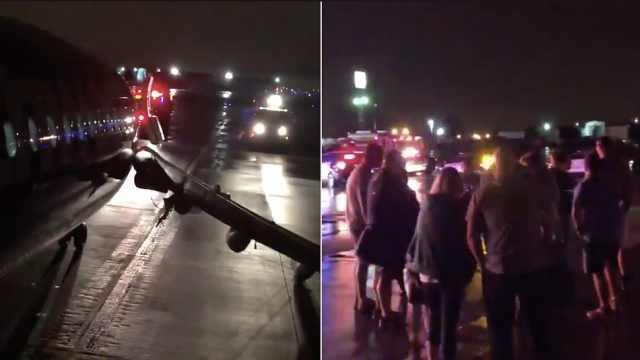 飞机现烟雾异味,140乘客紧急撤离