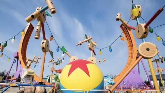 尝鲜!迪士尼皮克斯新园区画面曝光